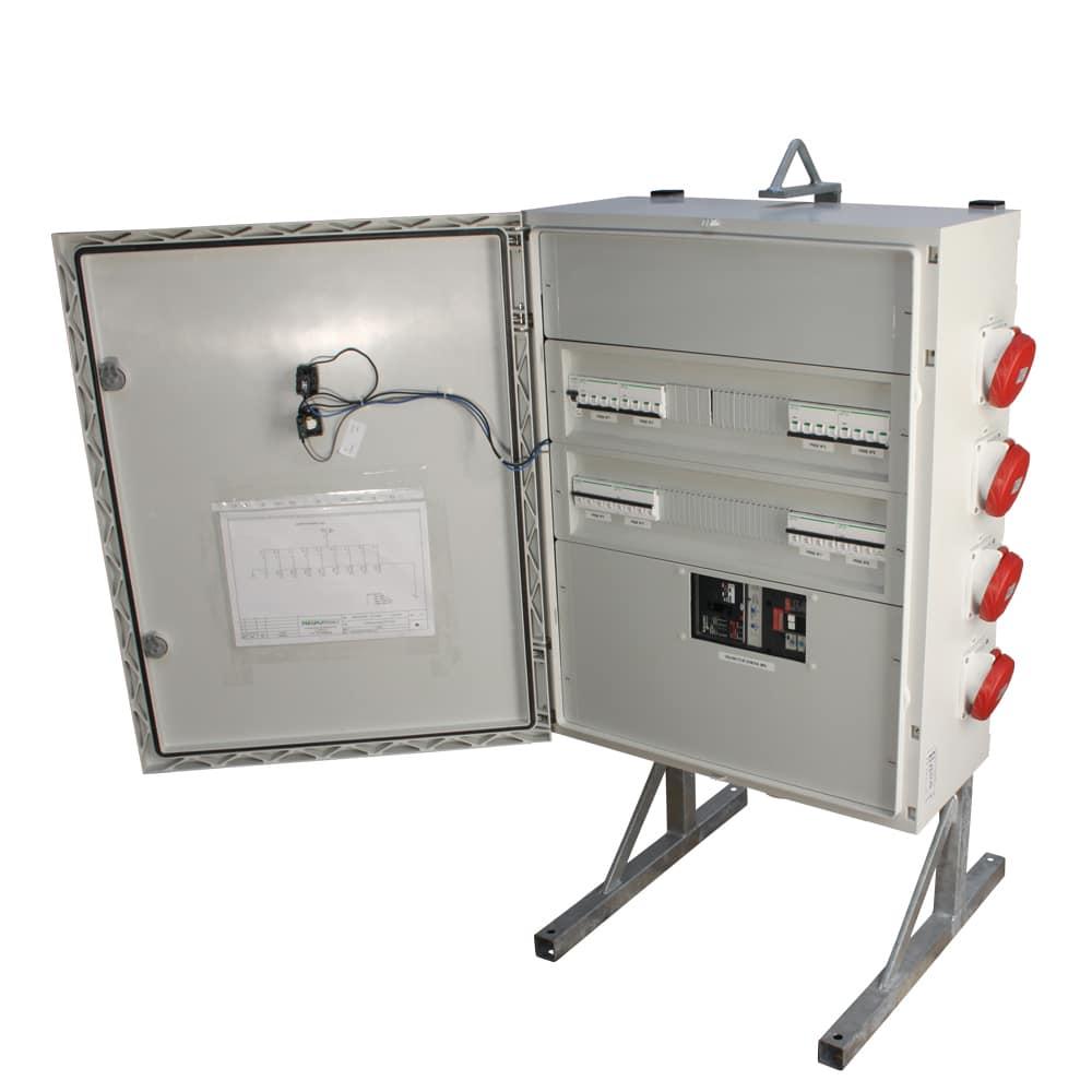 Mcpatcx001 armoire 250a 8 prises 32a ip44 prestawatt - Voyant armoire electrique ...